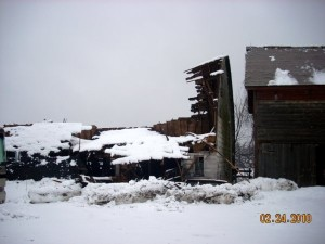Barn & Structure Damage due to snow