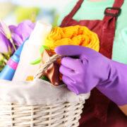 Spring cleaning basket